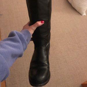 Frye Melissa Button Boots, Black, 6.5